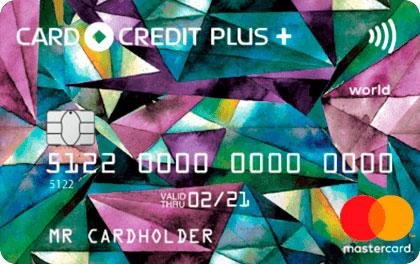 Кредитная карта Кредит Европа Банк Card Credit Plus